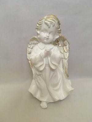 Angyal imádkozó, fehér