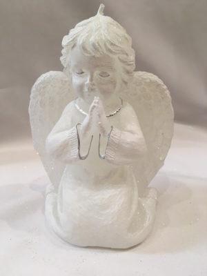 Angyal imádkozó ezüst